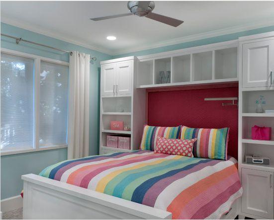over bed bedroom storage